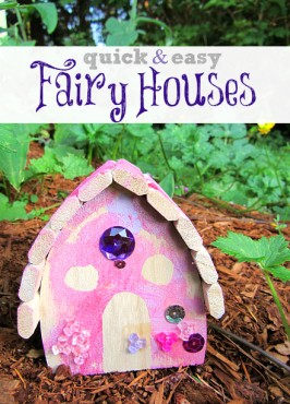 Quick & Easy Fairy House Craft For Kids
