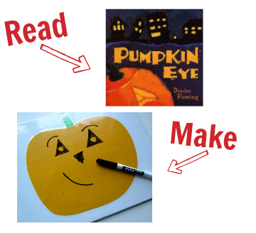 pumpkin eye activity