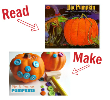 big pumpkin craft idea for preschool