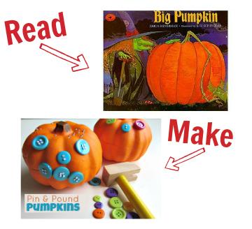 big pumpkin craft idea for preschool