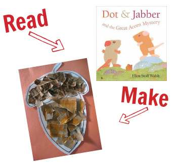 fall books and crafts
