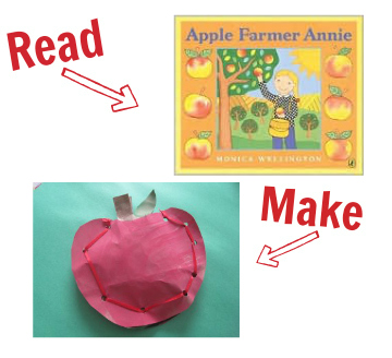 craft for apple farmer annie