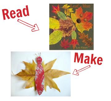 leaf man craft