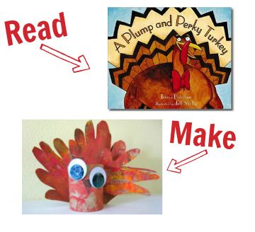 craft for plump and perky turkey