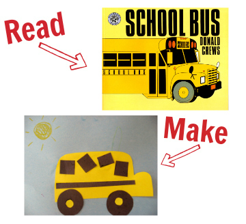 craft for donald crews school bus