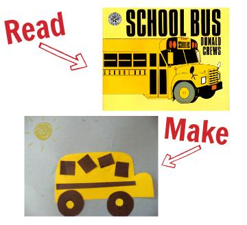 craft for donald crews school bus
