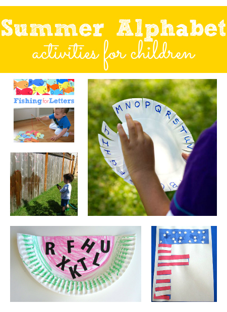 summer alphabet activities for kids