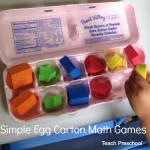 Egg Carton Math by Teach Preschool