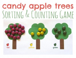 Candy Apple Math Game For Kids
