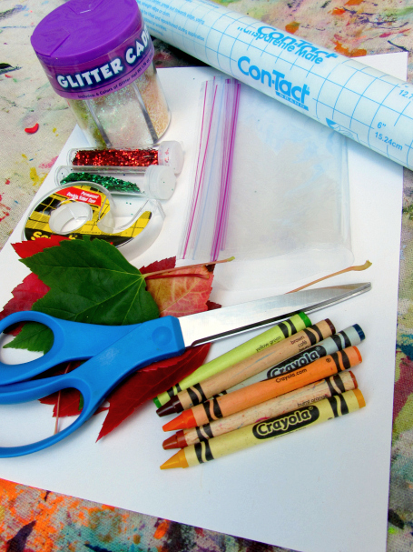 fall placemat craft for preschool