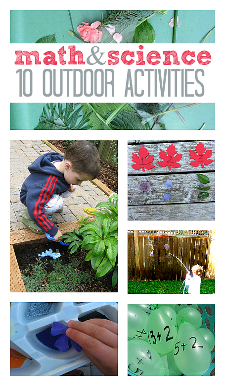 math science outdoor activities