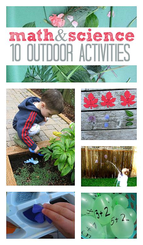 math science outdoor activities