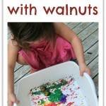 Walnut Painting Easy Art For Kids