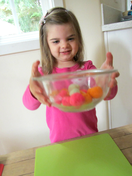 playdough kabobs fine motor skills for kids