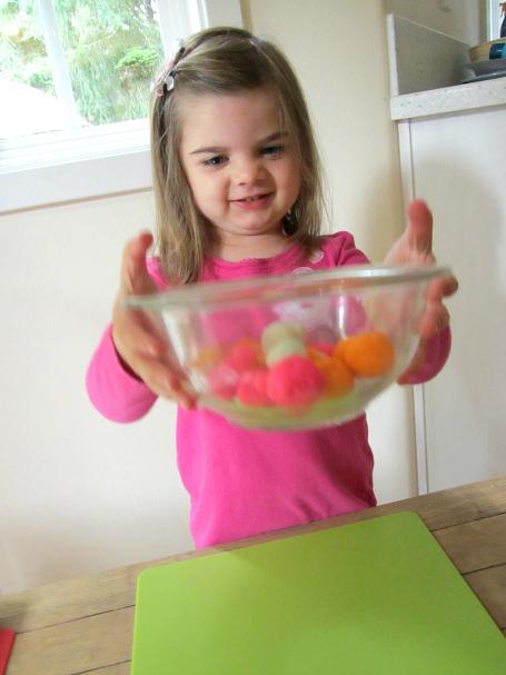playdough kabobs fine motor skills for kids