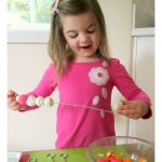 Playdough Kabobs – Preschool Math & Fine Motor