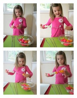 playdough kabobs for preschool