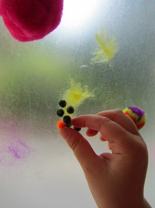 quick pompom activity for kids fine motor