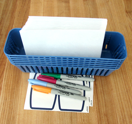 Math Mail - kindergarten math activity