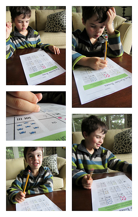 bug math worksheet for kindergarten