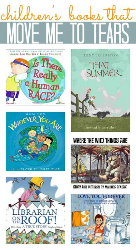 children's books that make me cry