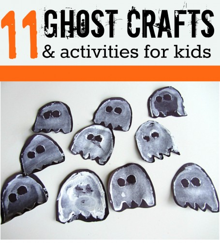 Easy Ghost Crafts Toddlers