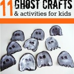 Easy Ghost Crafts & Activities For Halloween