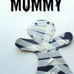 Mummy Halloween Craft For Kids