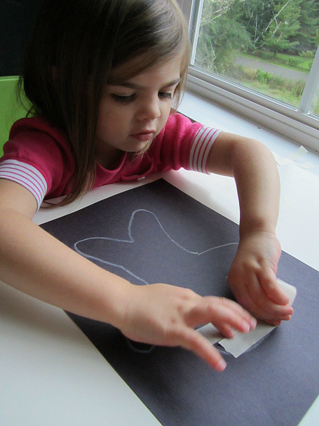 easy mummy craft for three year olds