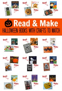halloween books with crafts to match