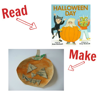 a973326192ea5 Halloween Books and Crafts To Match - No Time For Flash Cards