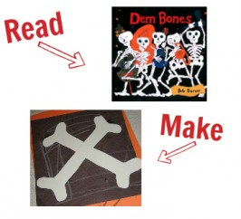 Halloween Books and Crafts To Match