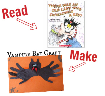 halloween crafts and books for kids 3