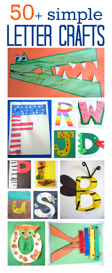Alphabet Crafts For Kids No Time For Flash Cards