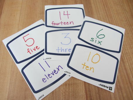 mail math for preschool and kindergarten
