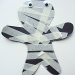 mummy craft for young kids