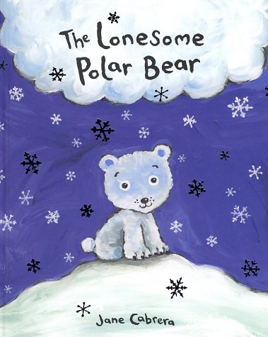 The lonesome  polar bear
