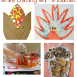 Easy Thanksgiving Crafts For Toddlers {and tips for parents too}