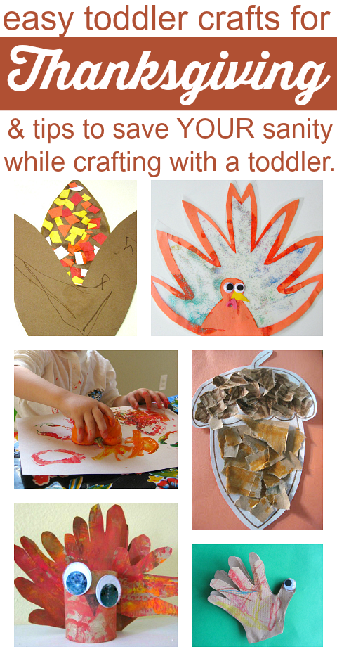 easy toddler crafts for thanksg