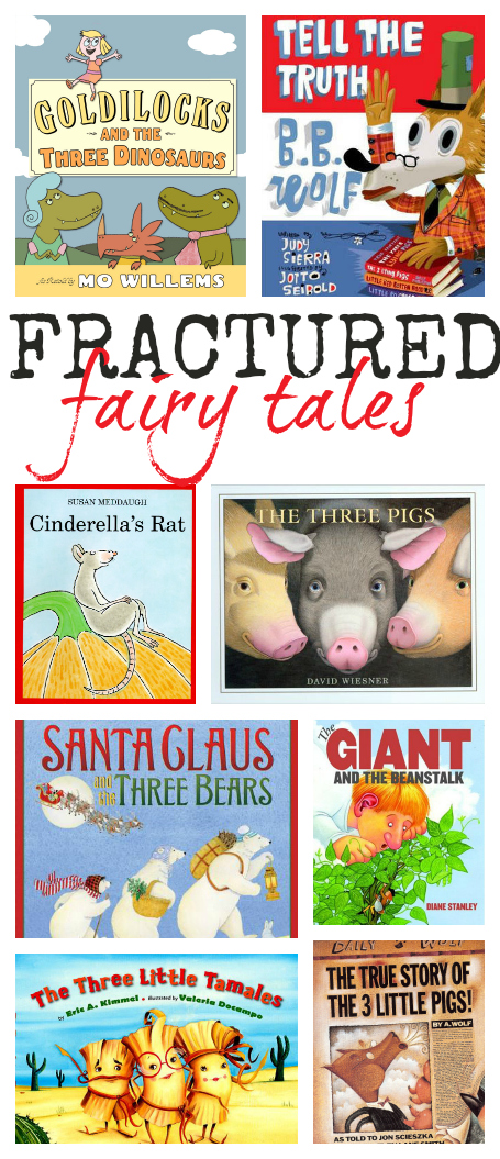 fractured fairy tales book list
