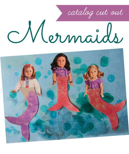 mermaid craft for kids
