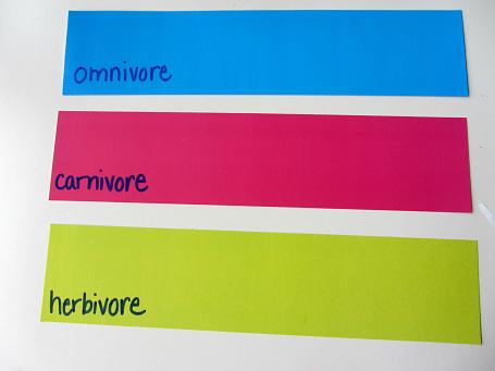 omnivore carnivore herbivore science for kids