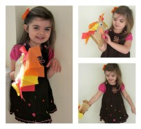 paper bag turkey make and play right away