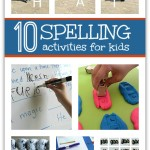 10 Spelling Activities For Kids
