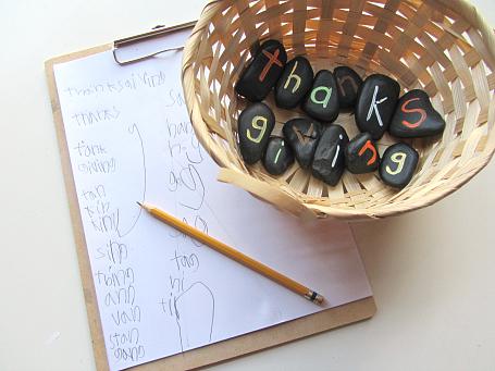 spelling stones literacy activity