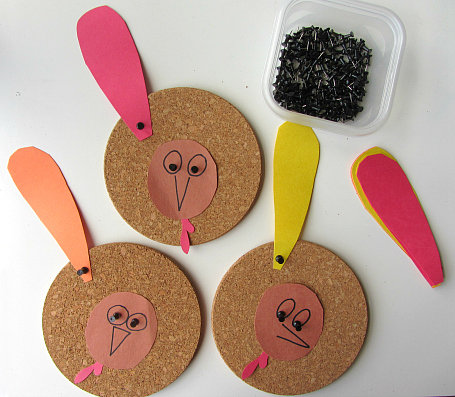 turkey cork board learning