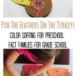 Thanksgiving Math For Kids – Fact Families and More!