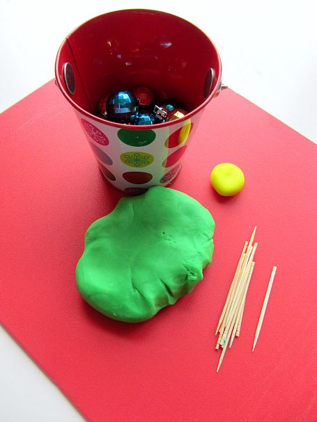 Trim the tree fine motor activity for kids