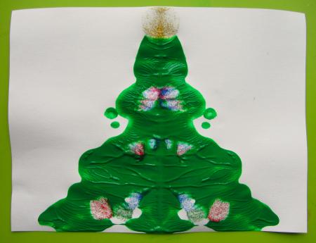 blotto christmas tree activity
