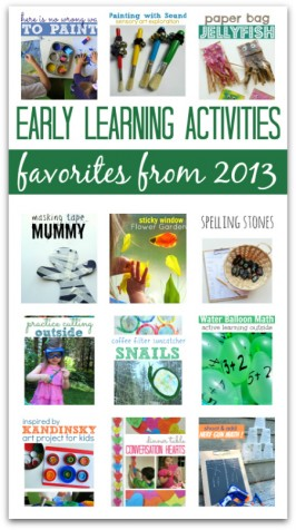 Favorite Early Learning Activities Of 2013